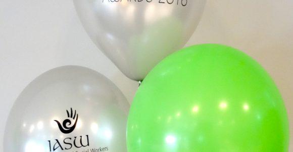 Balloon Printing - IASW Bouquet