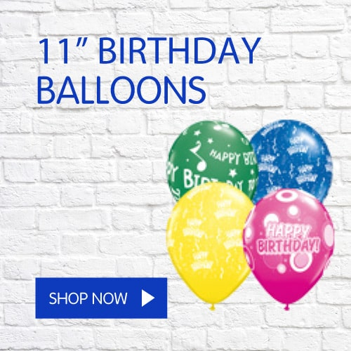 11 Inch Birthday Balloons Icon