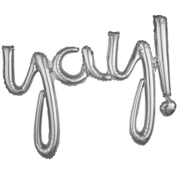 Yay! Script Phrase Silver