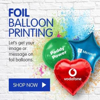foil balloon printing