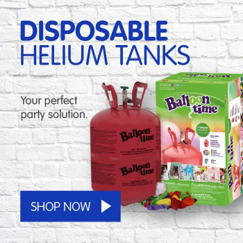 Helium Rental | Disposable Helium Tanks | Balloon Man Dublin