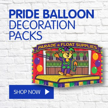 pride balloon decorations