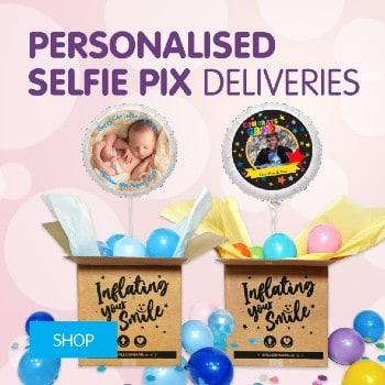 personalised selfie pix deliveries350